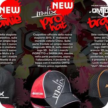 Nuovi cappellini Molix!