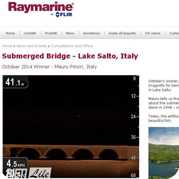Raymarine: Il Ponte sommerso