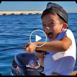 Little fisherman Guillermo!