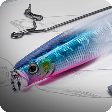 "The new Jig Minnow ""Baitfish"" Series"